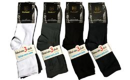 120 Units of Assorted Mens Dress Socks Size 10-13 - Mens Dress Sock