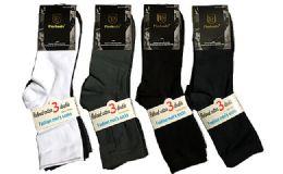 120 Units of Assorted Mens Dress Socks Size 10-13 - Mens Dress Sock