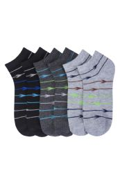 216 Units of Men's Spandex Ankle Socks Size 10-13 - Mens Ankle Sock