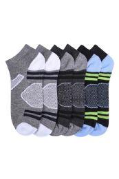 432 Units of Mens Spandex Ankle Socks Size 10-13 - Mens Ankle Sock