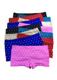 48 Units of Sheila Teen Girls Seamless Boyshort - Girls Underwear and Pajamas