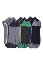 216 Units of Mens Spandex Ankle Socks Size 10-13 - Mens Ankle Sock