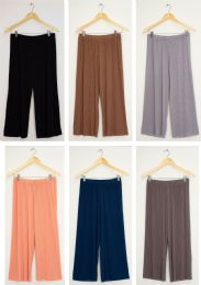 36 Units of Pleated Wide Leg Trousers Assorted - Womens Pants