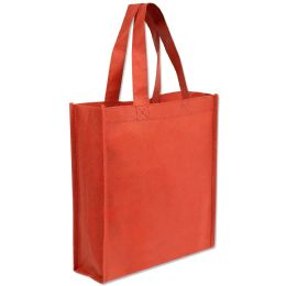 100 Units of 10 X 9 Gift Tote Bag Red Only - Tote Bags & Slings