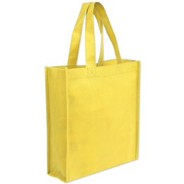 100 Units of 10 X 9 Gift Tote Bag Yellow Only - Tote Bags & Slings