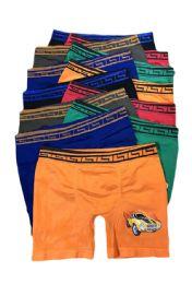 216 Units of Boys Sports Seamless Boxer Brief - Boys Underwear