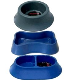 24 Units of Asst Dog Bowls - Pet Supplies