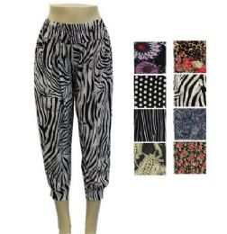 36 Units of Womens Fashion Assorted Syle Pants - Womens Capri Pants