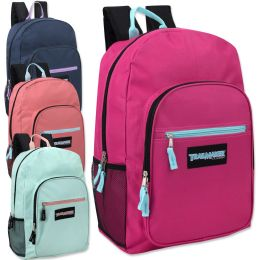 "24 Units of Trailmaker Deluxe 19 Inch Backpack- Girls - Backpacks 18"" or Larger"