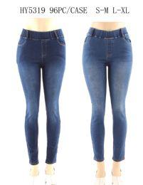 24 Units of Womens Fashion Denim Leggings - Womens Leggings