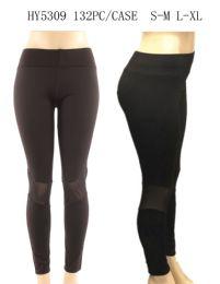 24 Units of Womens Fashion Solid Color Legging - Womens Leggings
