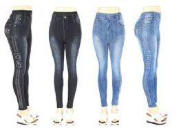 36 Units of Womens Fashion Denim Pants Assorted Syles - Womens Pants