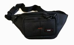 48 Units of Black Fanny Pack - Fanny Pack