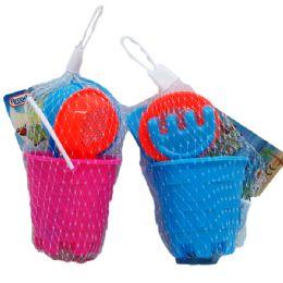 "36 Units of 2.75"" Beach Toy Bucket - Beach Toys"