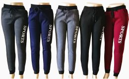48 Units of Womens Winter Sport Joggers - Womens Pants
