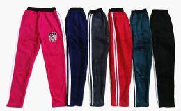 120 Units of Kids Active Basic Winter Jogger Pants - Girls Apparel