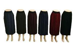 48 Units of Women Pleated A line Midi Skirt - Womens Pants
