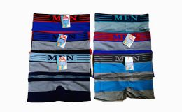 180 Units of Mens Striped Boxer - Mens Underwear