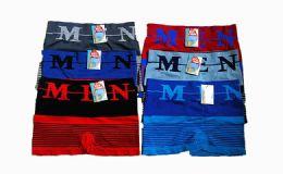 180 Units of Mens Boxer Briefs Mens Stretch - Mens Underwear