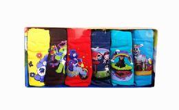 720 Units of Boys Six Pack Assorted Style Underwear - Boys Underwear