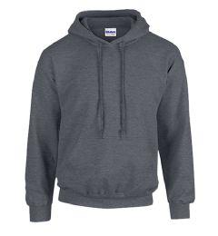 12 Units of Gildan First Quality Unisex Dark Heather Crew neck Sweatshirt, Size 3XL - Mens Sweat Shirt
