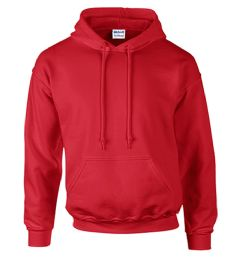 12 Units of Gildan First Quality Unisex Red Crew neck Sweatshirt, Size XLarge - Mens Sweat Shirt