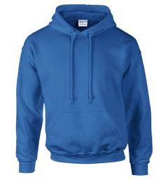 12 Units of Gildan First Quality Unisex Royal Blue Crew neck Sweatshirt, Size Medium - Mens Sweat Shirt