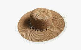 120 Units of Womens Fashion Sun Hat With Chain - Sun Hats