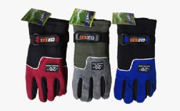132 Units of Waterproof Insulated High Dexterity Gloves - Winter Gloves