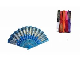 120 Units of Handheld Folding Fans Chinese Japanese Women Craft Fan for Party Wedding Dancing - Novelty & Party Sunglasses