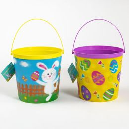 24 Units of Easter Bucket W/lenticular - Easter