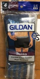 96 Units of Gildan Mens Boxer Brief Size Large Only - Mens Underwear