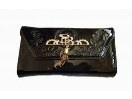 36 Units of Envelop Clutch Purses For Women With Tassel - Handbags