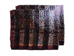 180 Units of Womens Fashion Cheetah Scarf - Womens Fashion Scarves