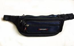 36 Units of Fanny Pack Quick Release Buckle Travel Sport Waist Fanny Pack Bag - Fanny Pack