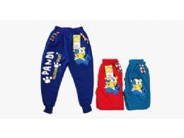 144 Units of Boys Pandi Sports Pants - Boys Apparel