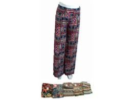 48 Units of Womens Long Loose Fitted Fashion Pants - Womens Pants
