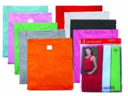 180 Units of Womens Three Piece Athletic Shirts Top Quality - Women's T-Shirts