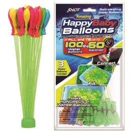 48 Units of Water Balloons With Filler Cap - Water Balloons