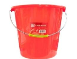 36 Units of PLASTIC BUCKET 10X10 IN - Cleaning Products