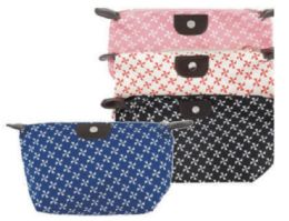 72 Units of Assorted Colors Cosmetic Bag - Cosmetic Cases