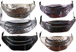 24 Units of Metallic Fanny Pack - Fanny Pack