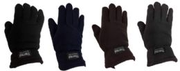 12 Units of Man Thermal Fleece Glove - Winter Gloves