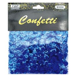 96 Units of Sequins Dark Blue - Streamers & Confetti