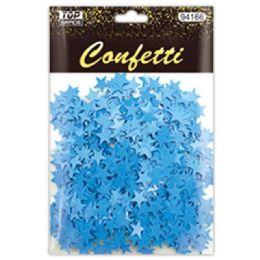 96 Units of Confetti Star Baby Blue - Streamers & Confetti
