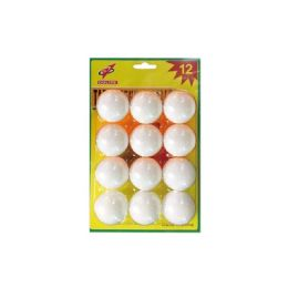 96 Units of Twelve Piece Table Tennis Balls - Playing Cards, Dice & Poker