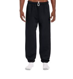 18 Units of Adult Unisex Gildan Black Adult Sweatpants,Size Medium - Womens Pants