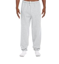 18 Units of Adult Unisex Gildan Ash Grey Adult Sweatpants,Size Small - Womens Pants