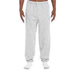 18 Units of Adult Unisex Gildan Ash Grey Adult Sweatpants,Size Large - Womens Pants