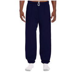 18 Units of Adult Unisex Gildan Navy Adult Sweatpants,Size Medium - Womens Pants